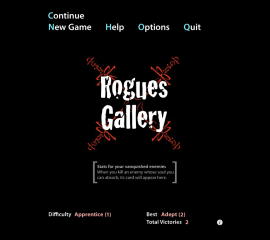 The Rogues Gallery title
